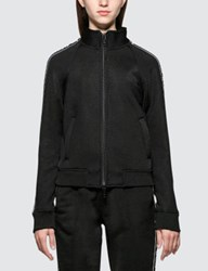 Alexander Wang Sleek French Terry Full Zip Shrunken Track Jacket