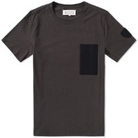 Maison Martin Margiela 10 Velcro Patch Tee Black