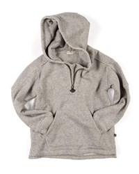 Appaman Half Zip Herringbone Knit Hoodie Size 2 10 Gray