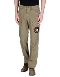 Hollywood Milano Casual Pants Military Green