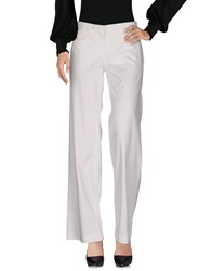 Fabrizio Lenzi Casual Pants White