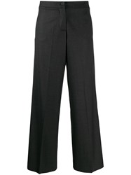 Giada Benincasa Ciao Amore Wide Trousers Grey