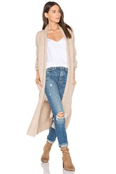 360 Sweater Margaux Cardigan Tan