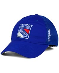 Reebok New York Rangers Player Mesh Slouch Cap