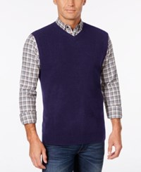 Weatherproof Vintage Men's Sweater Vest Navy
