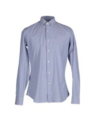 Ungaro Shirts Shirts Men Azure
