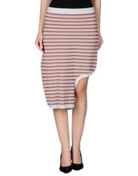 Opening Ceremony Knee Length Skirts Light Grey