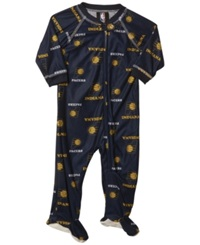 Outerstuff Babies' Indiana Pacers Zip Up Footed Coverall