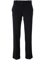 Golden Goose Deluxe Brand Speckled Trousers Black
