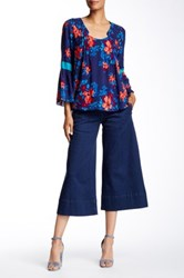 Tracy Reese Tailored Culotte Blue