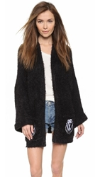 Wildfox Couture Classic Logo Cardigan Clean Black