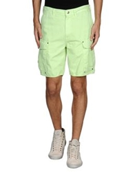 Just Cavalli Bermudas Acid Green