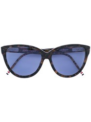 Thom Browne Cat Eye Sunglasses Women Acetate 59 Black