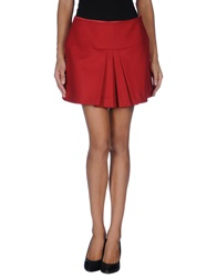 Paul And Joe Sister Mini Skirts Red