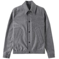 Ami Alexandre Mattiussi Unlined Snap Jacket Grey