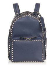 Valentino Rockstud Leather Medium Backpack