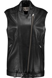 Iro Abrega Leather Vest Black