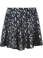 Michael Michael Kors Layered Lace Skirt Black
