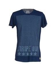 Anerkjendt Topwear T Shirts Men Dark Blue