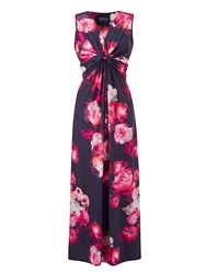 Grace Made In Britain Print Maxi Pink