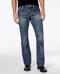 Inc International Concepts Men's Boot Cut Light Wash Jeans Only At Macy's