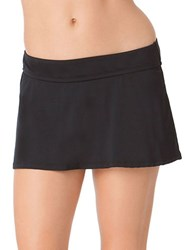 Anne Cole Classic Swim Skirtini Black