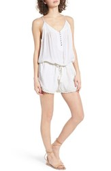 Rip Curl Women's High Tide Romper White