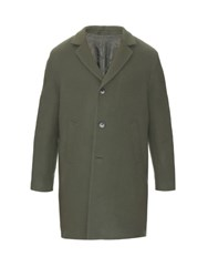 Raey Notch Lapel Wool Overcoat Khaki
