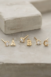 Anthropologie Letter And Stone Posts Assorted