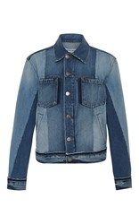 Frame Denim Nouveau Mixed Jacket Light Wash