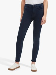 French Connection Mid Rise Skinny Rebound Jeans Blue Black