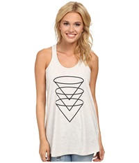 Burton Martini Knit Tank Blanco Women's Sleeveless White