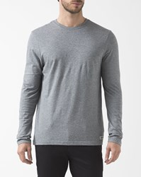 Element Grey Crew Neck Ml T Shirt