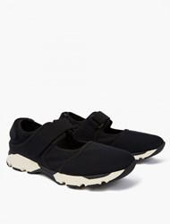 Marni Black Cut Out Neoprene Sneakers