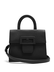 Maison Martin Margiela Large Buckle Leather Bag Black