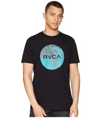 Rvca Motors Fill Tee Black T Shirt