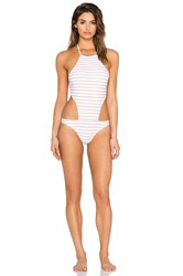 Rachel Pally Stinson Swimsuit White