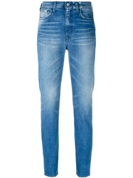 Cycle Slim Fit Jeans Women Cotton Spandex Elastane 27 Blue