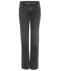 Alexander Wang Cult Straight Leg Jeans Grey