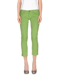Pianurastudio Trousers 3 4 Length Trousers Women Acid Green