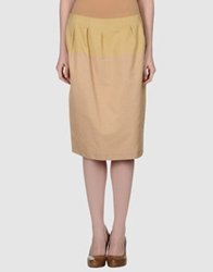 Schumacher 3 4 Length Skirts Beige