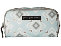 Petunia Pickle Bottom Glazed Powder Room Case Sleepy San Sebastian Cosmetic Case Blue