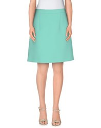 Mcq By Alexander Mcqueen Mcq Alexander Mcqueen Skirts Knee Length Skirts Women Light Green