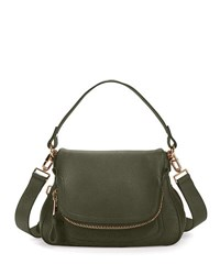 Tom Ford Jennifer Medium Leather Shoulder Bag Green Pattern