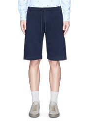 Paul Smith Drawstring French Terry Shorts Blue