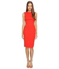 Mcq By Alexander Mcqueen Cut Out Bodycon Dress Flame Women's Dress Orange