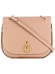 Mulberry Amberley Shoulder Bag Nude And Neutrals