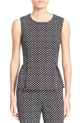 Women's Diane Von Furstenberg 'Mallorie' Sleeveless Polka Dot Top
