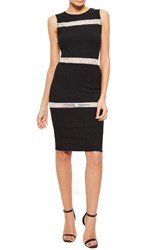 Missguided Women's Mesh Inset Dress