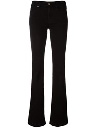 7 For All Mankind 'Charlize' Bootcut Jeans Black